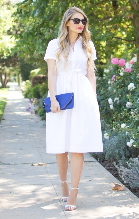 little white dress bmodish