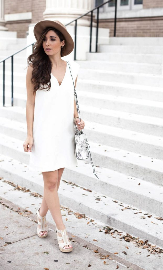 ultimate white spring summer dress bmodish