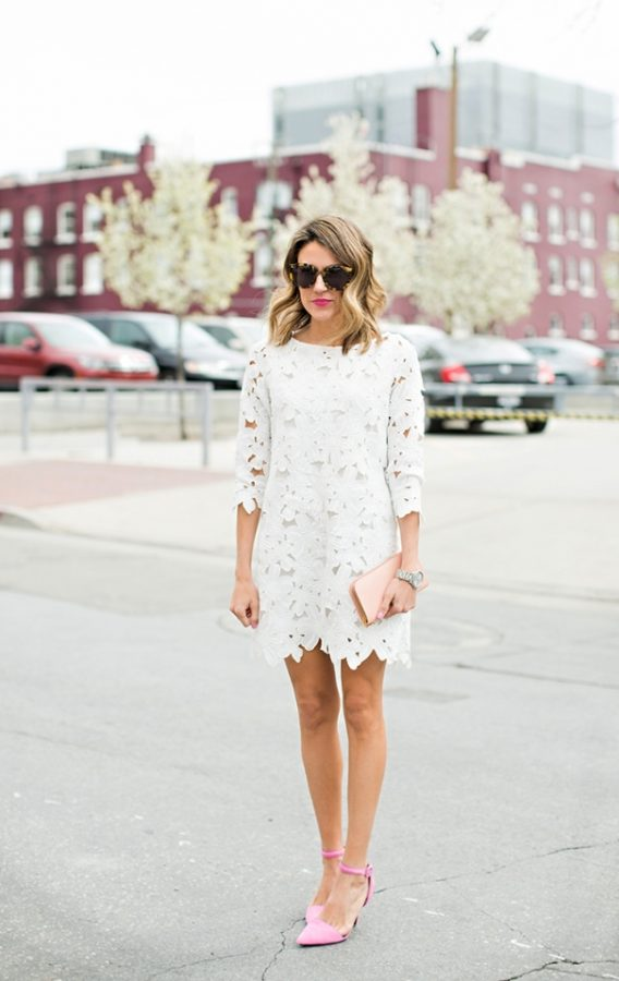 white dress lace bmodish