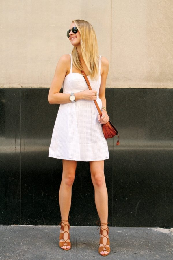 white eyelett dress bmodish