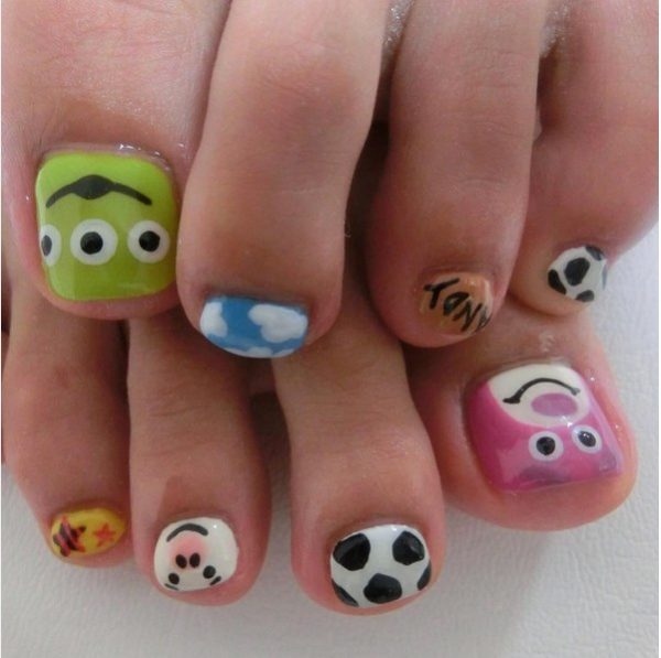 cute animal toenails bmodish