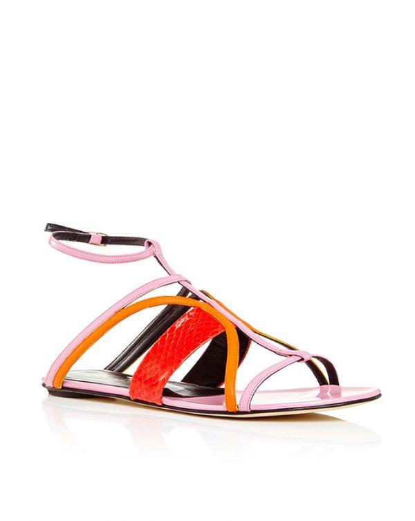 Oscar-de-la-Renta-Elaphe-Patent-Leather-Lexina-Sandal bmodish