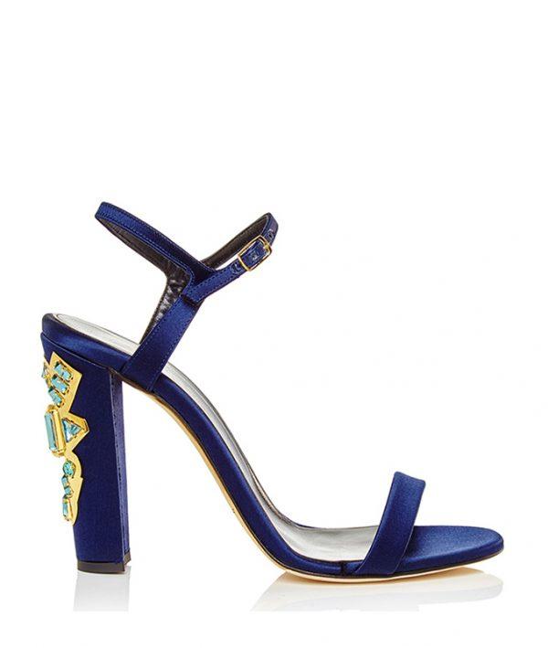 Oscar-de-la-Renta-Marine-Blue-Satin-Lemmy-Sandal-with-Crystals bmodish