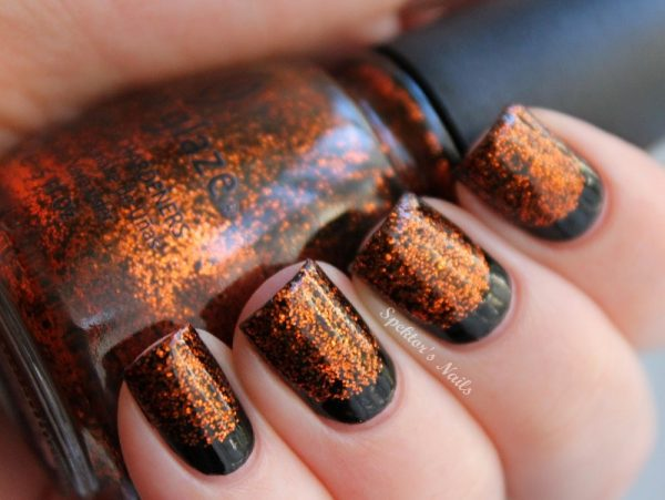 China Glaze Halloween Ruffian Nails bmodish