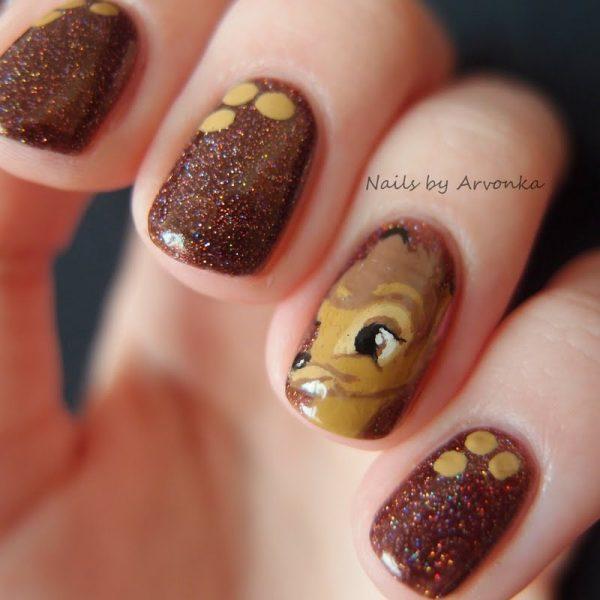 bambi nail art look bmodish