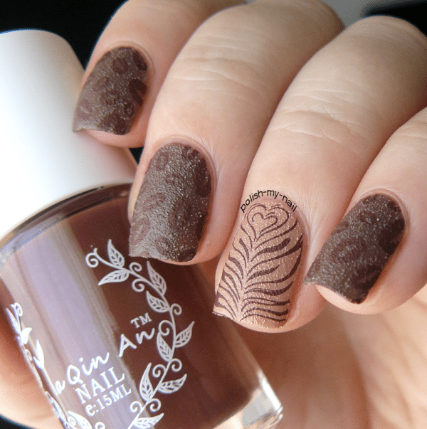 coffee nail art bmodish