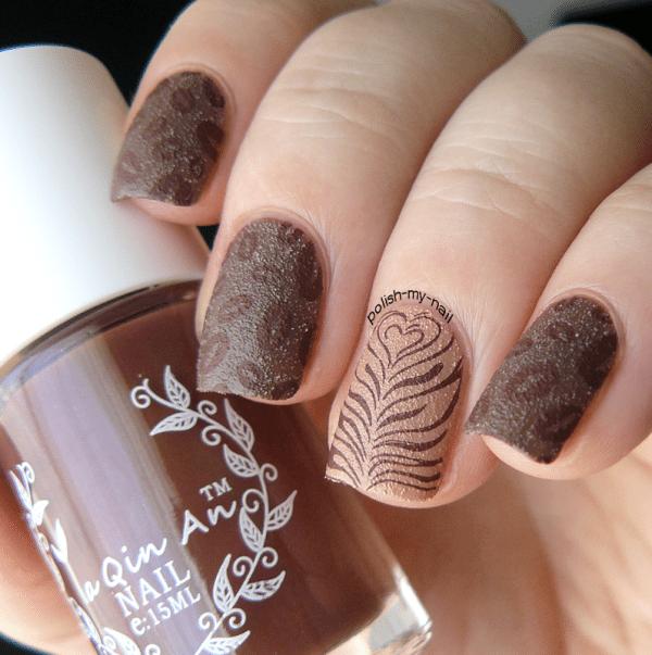 coffee nail art bmodish