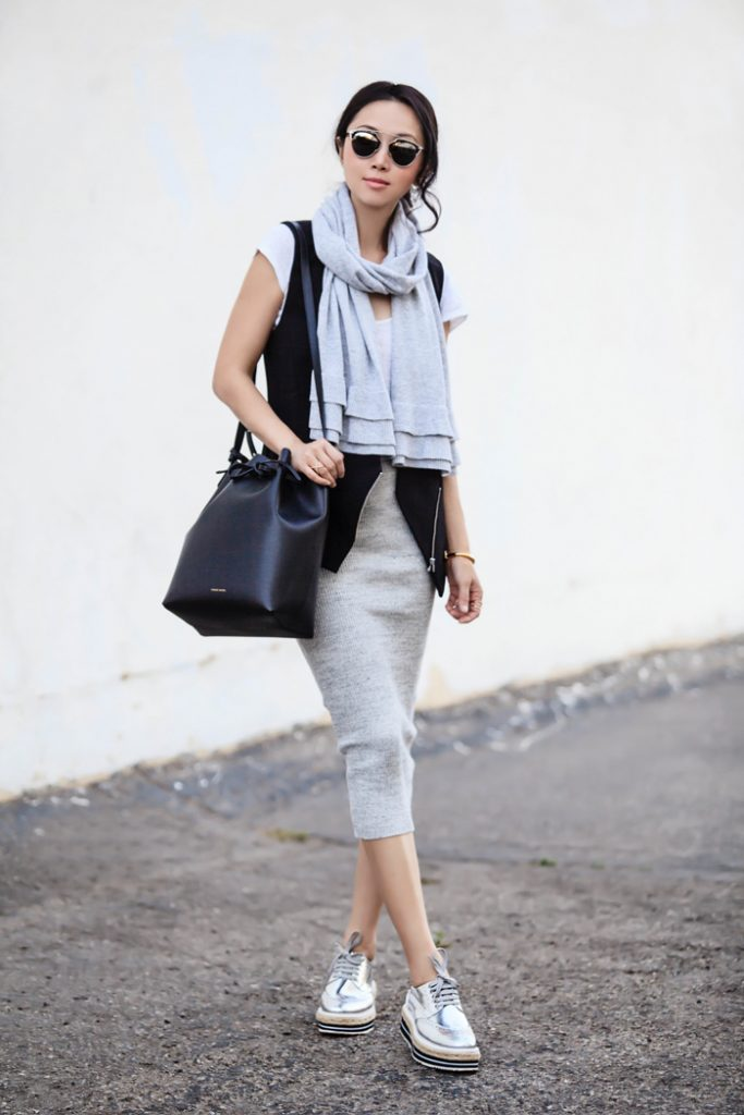 grey for fall fashion bmodish