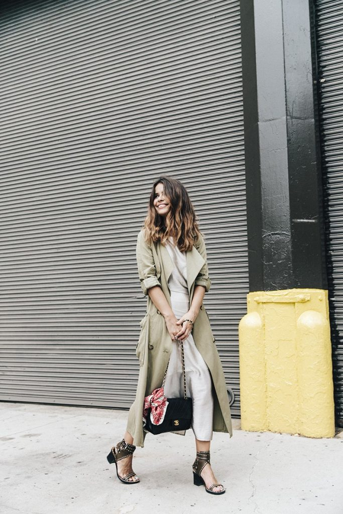 long trench zara for fall bmodish