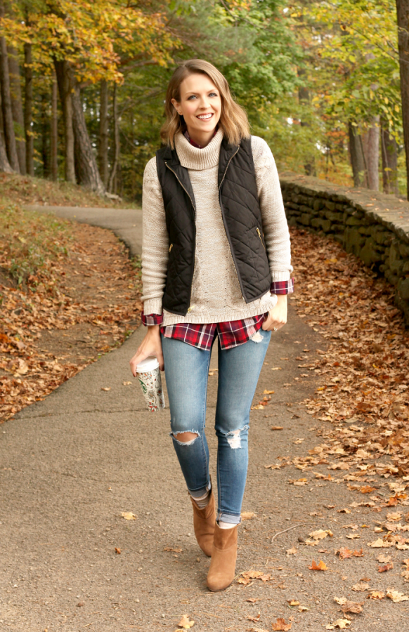 Casual fall layers preppy bmodish