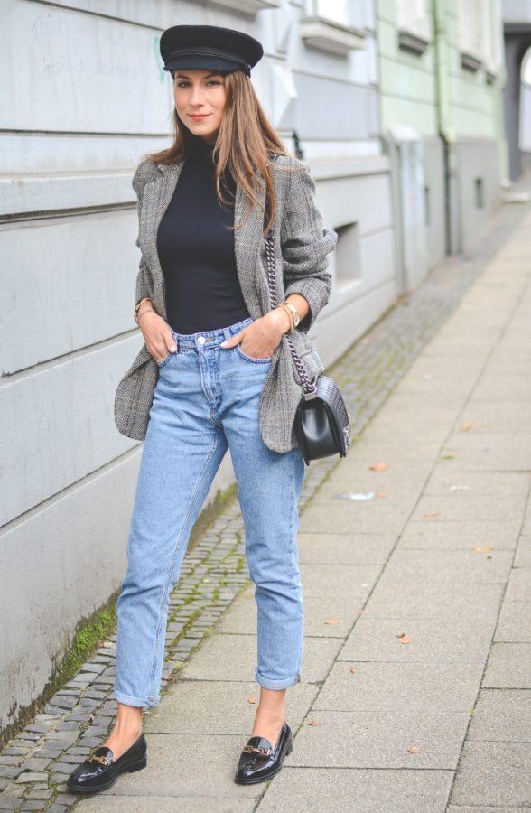 Manrepeller Mom Jeans Isabel Marant Boyfriend Blazer bmodish
