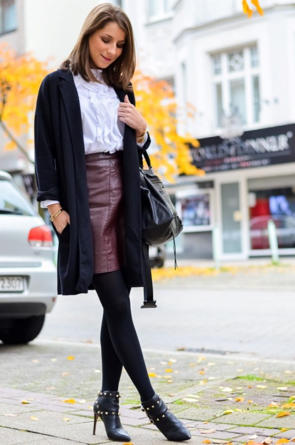 cute preppy fall outfit idea bmodish