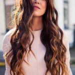 long fall wavy hair