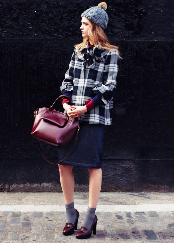 preppy look for fall and winter bmodish