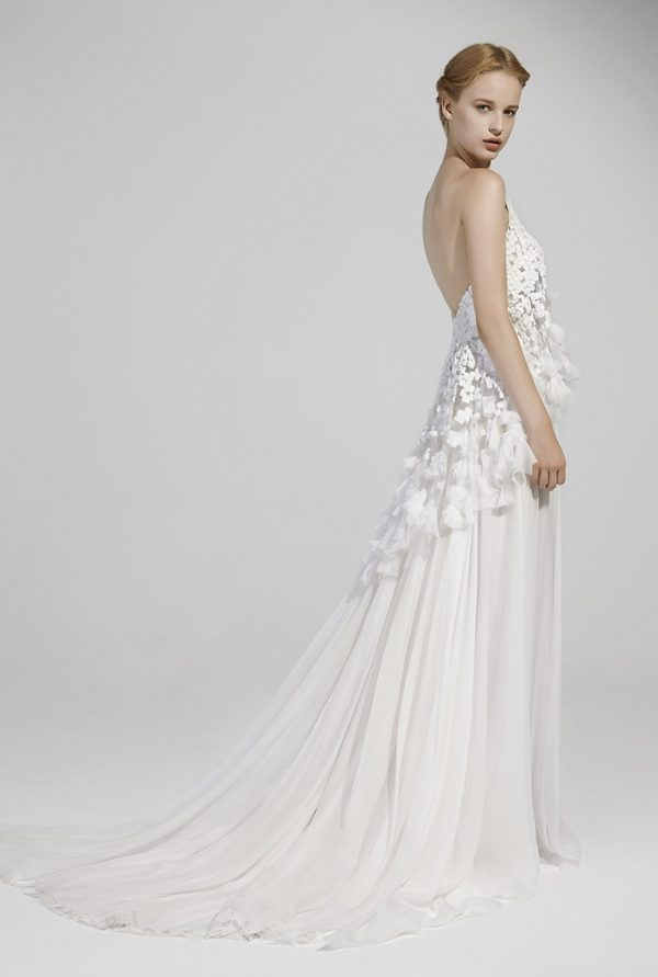 ANGELICA BACK peter langner bridal 2016 bmodish