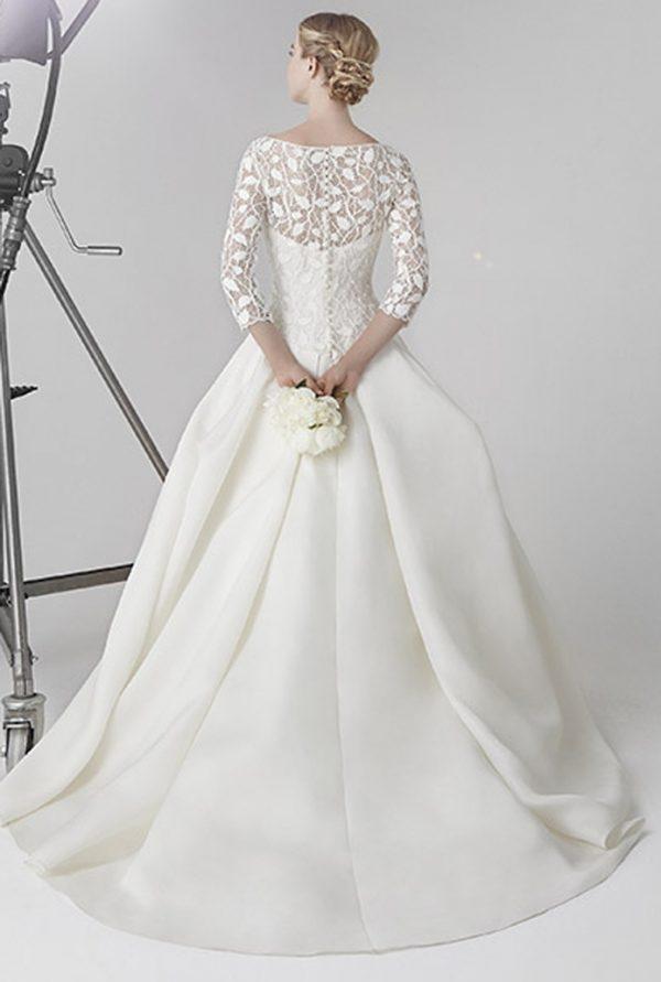JOSEPHINE BACK peter langner bridal 2016 bmodish
