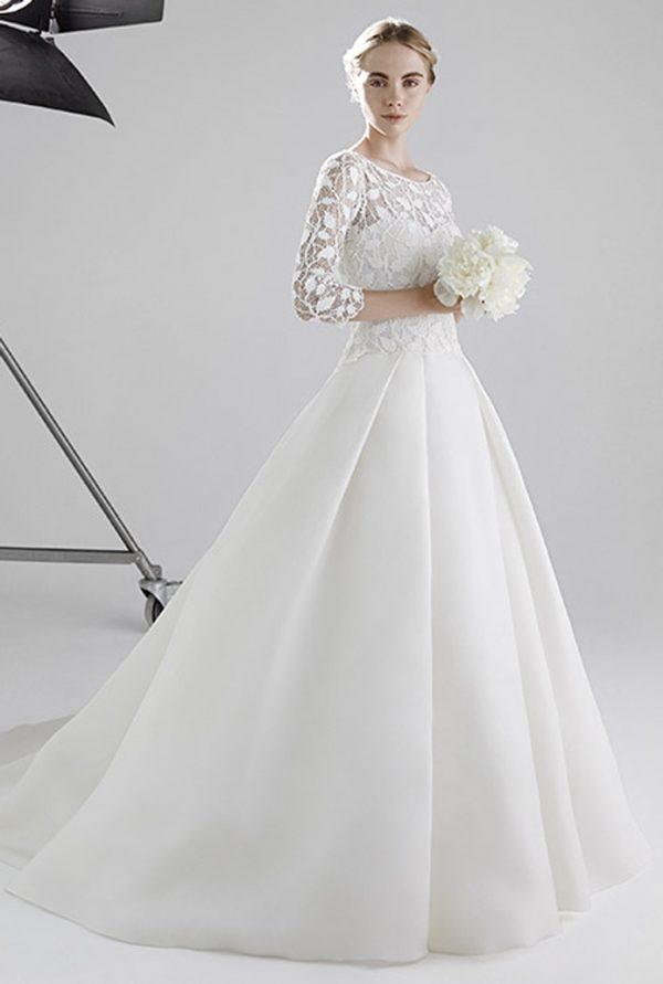 JOSEPHINE FRONT peter langner bridal 2016 bmodish
