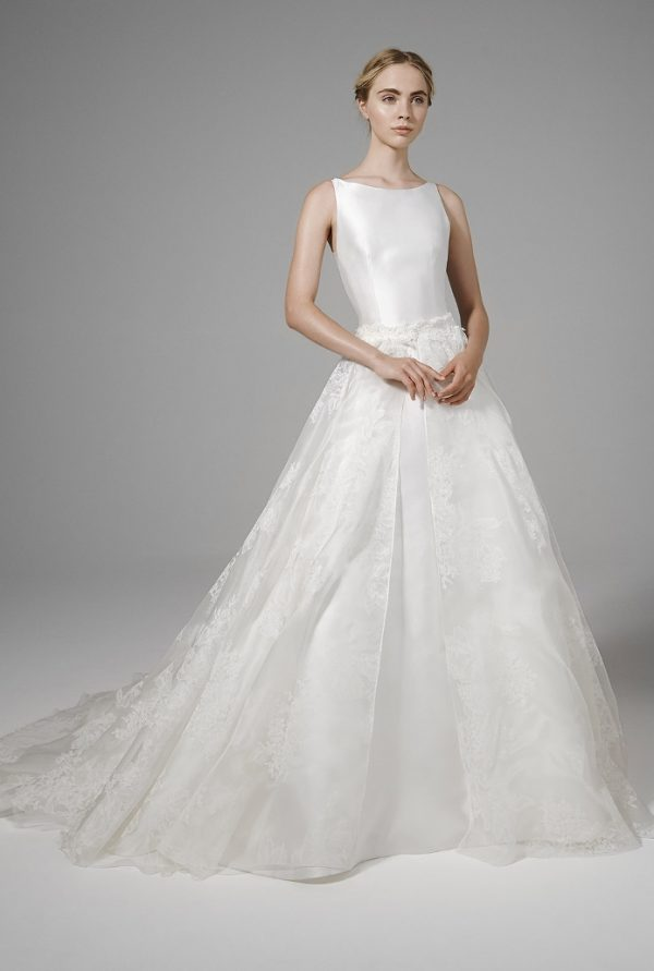 LEILA FRONT peter langner bridal 2016 bmodish