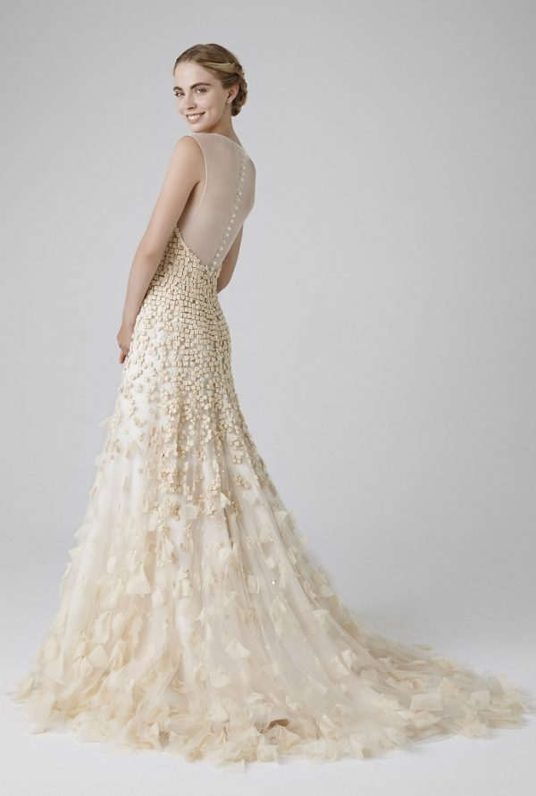 ROSE BACK peter langner bridal 2016 bmodish