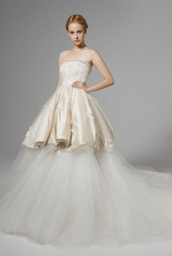 ROSEMARY FRONT peter langner bridal 2016 bmodish