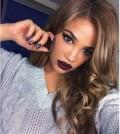 dark burgundy lip makeup bmodish