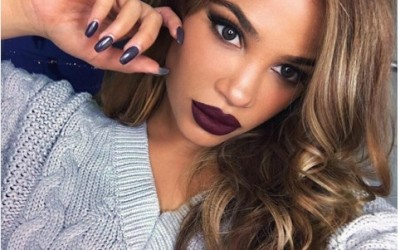 dark burgundy lip makeup bmodish