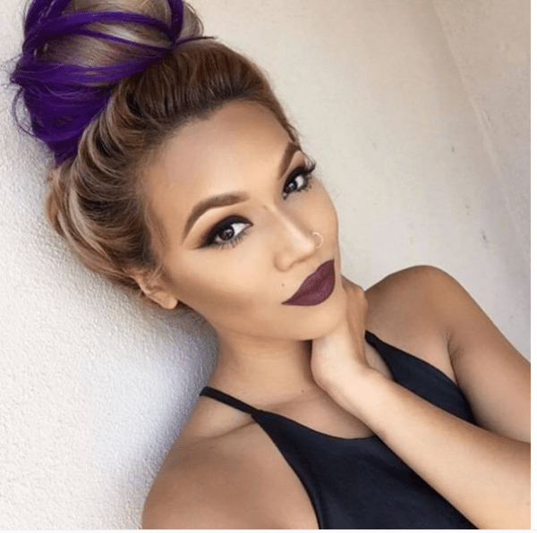 dark lip makeup idea bmodish