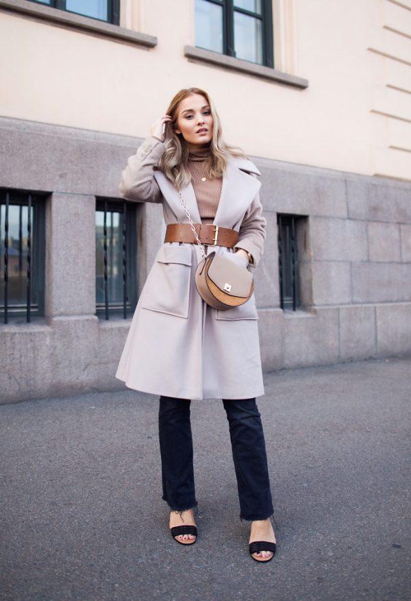 long coat neutral fall fashion look bmodish