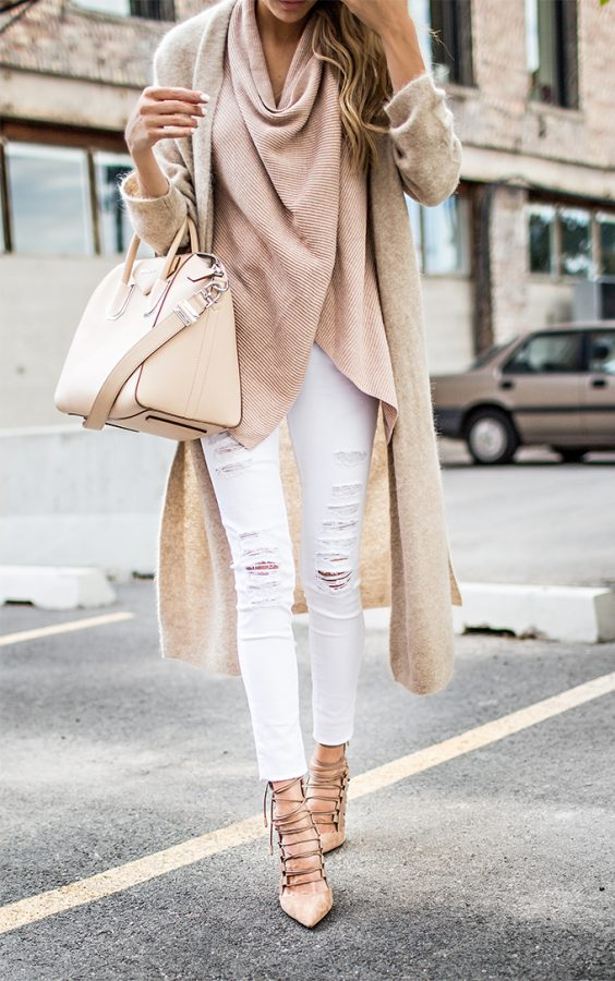 neutrals fall outfit bmodish