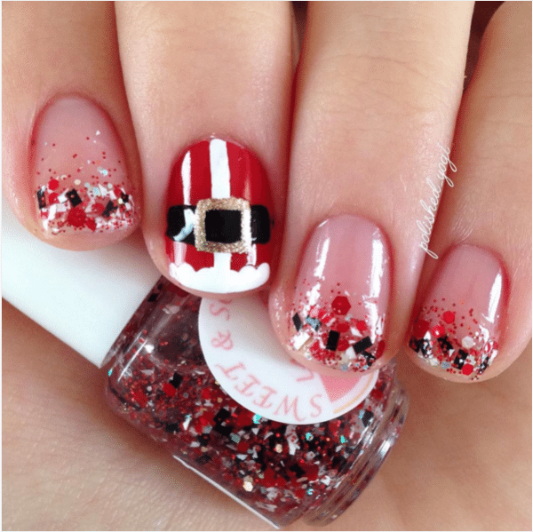 Christmas Design For Short Nails : Totally cute christmas designs for short nails be modish