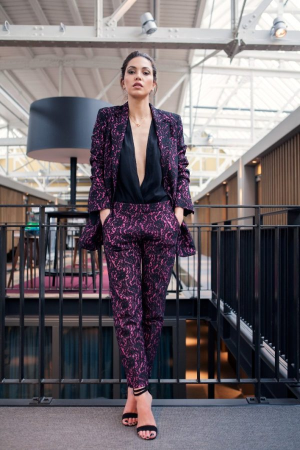 how to wear patterned suit bmodish