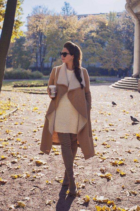 stylish fall neutral look bmodish