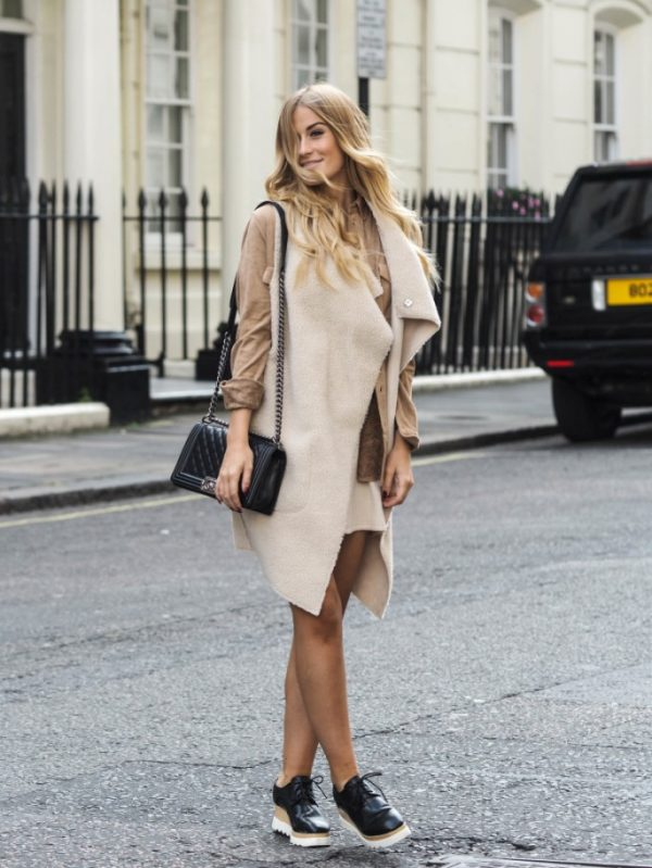 suede shirt with shearling jacket bmodish