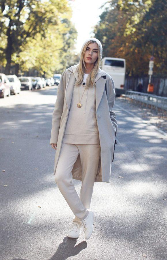 white cream neutral fall winter fashion bmodish