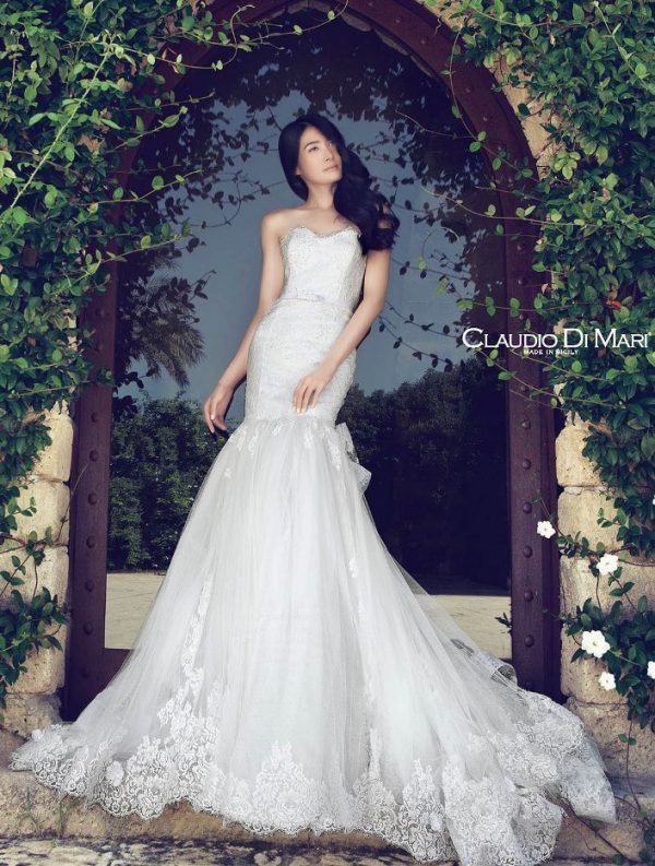 claudio di mari wedding dress 2016 3 bmodish