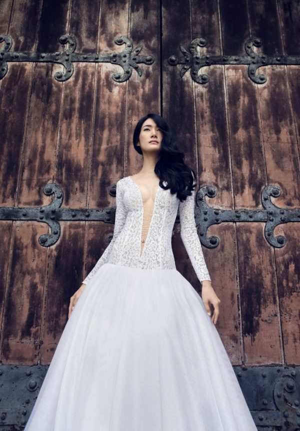 claudio di mari wedding dress 2016 4 bmodish