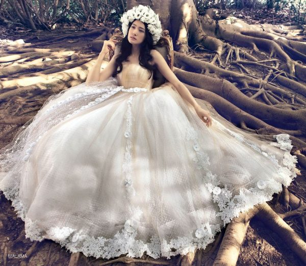 7b020fc4dbf1bcb Romantic Claudio di Mari Bridal Collection 2016 - Be Modish