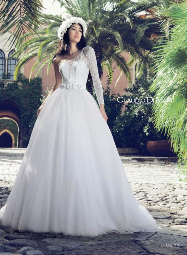 claudio di mari wedding dress 2016 8 bmodish