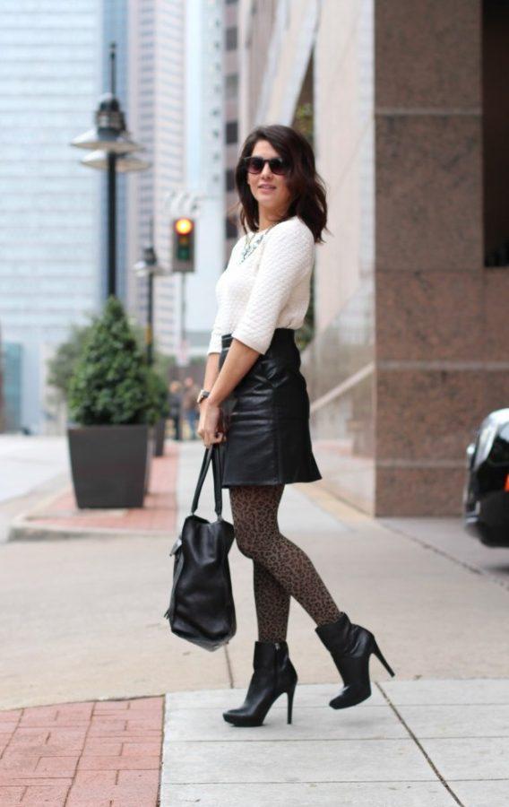 stylish leopard tight look bmodish