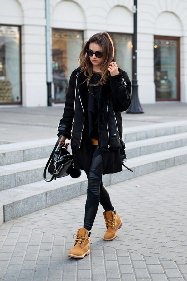 how to style timberlands