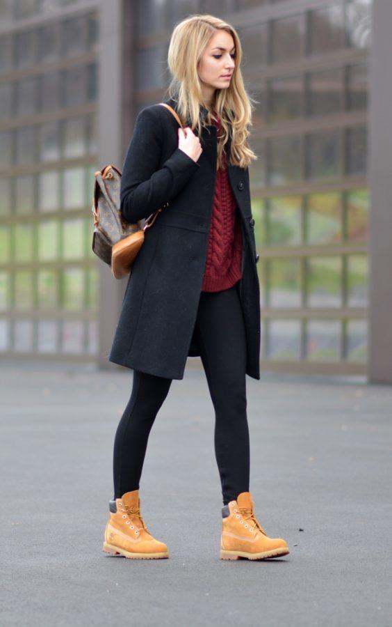 stylish timberland boots outfit bmodish