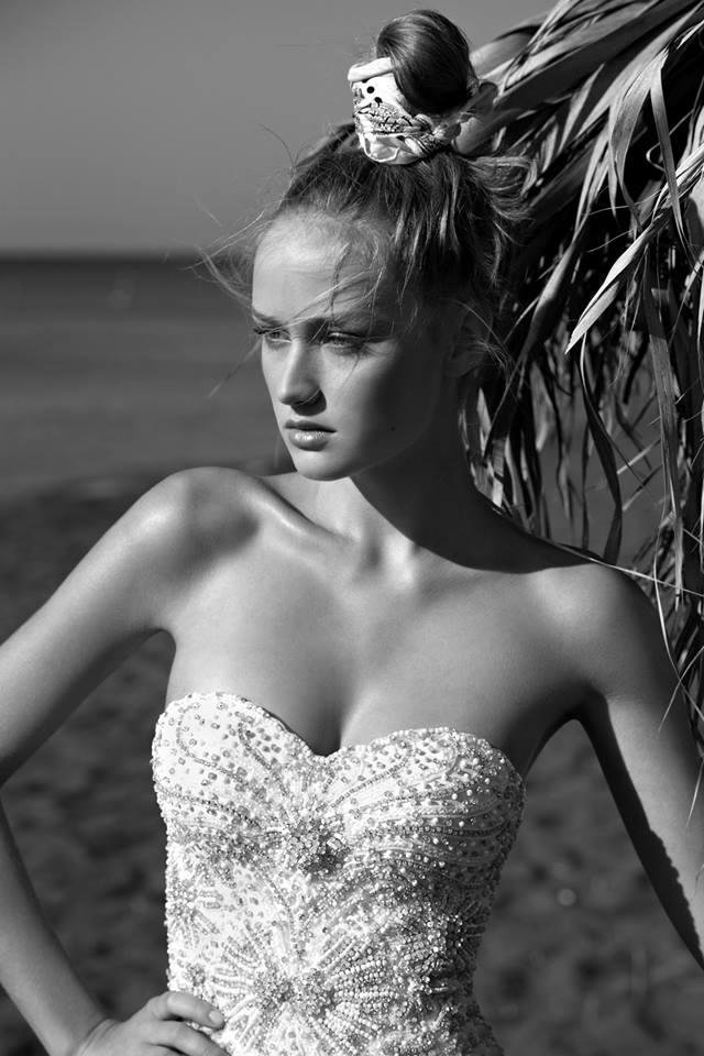 Keren Mor Yossef wedding dress 2 bmodish