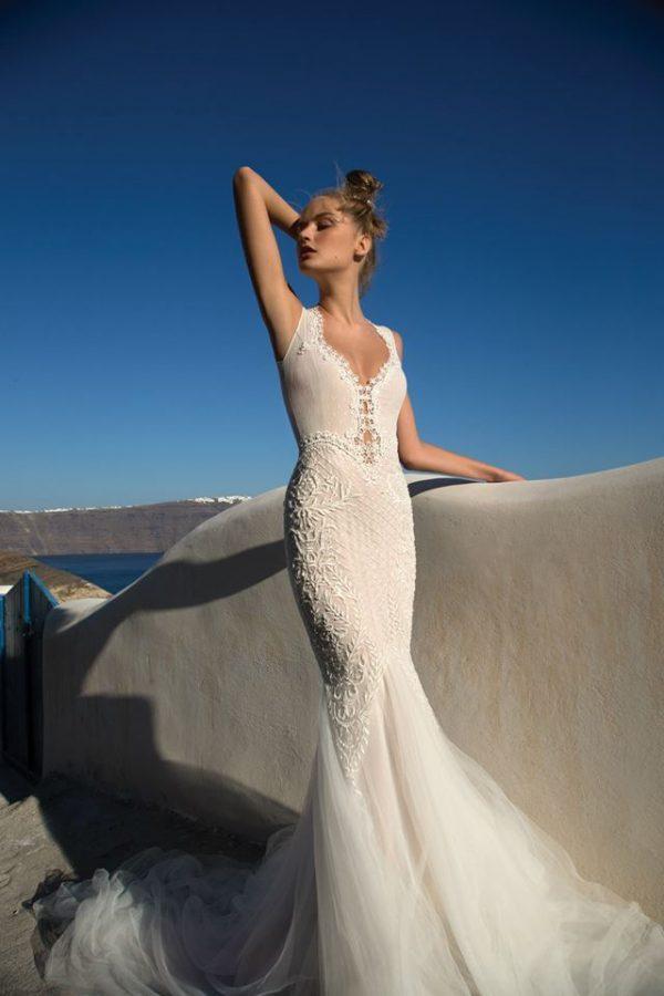 Keren Mor Yossef wedding dress 9 bmodish