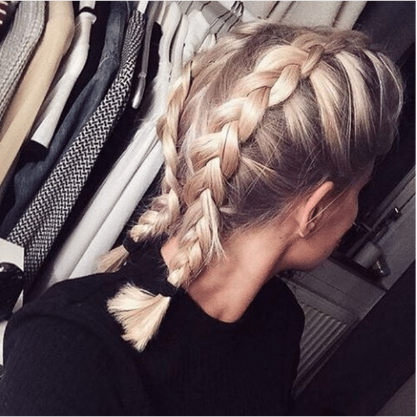 boxer braid short hair bmodish