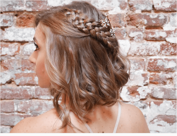 braided lob hairstyle bmodish