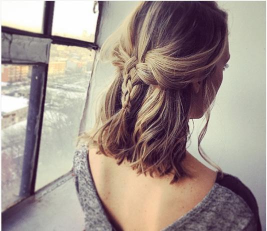 woven braid for short hair