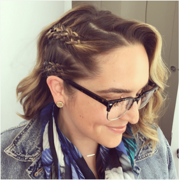 french five strand braids short hair bmodish