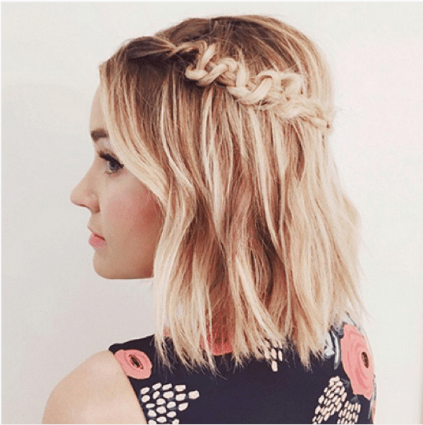 macrame braid short hair bmodish