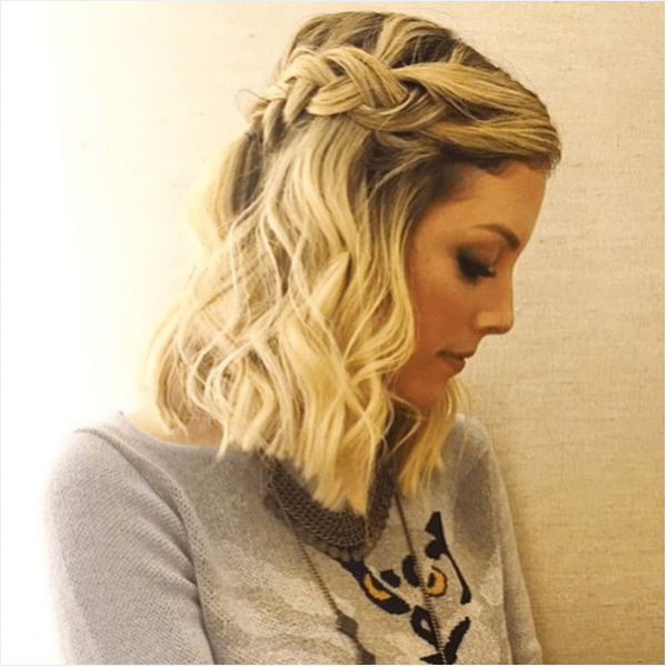 short medium braid hair bmodish