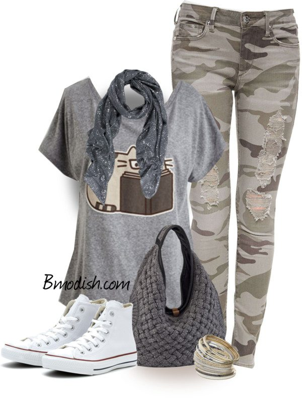 polyvore casual date outfits To help you out, we combed through tons of blogs filled with outfit eye candy to bring you 56 spring outfit ideas to copy and we love how casual this outfit is.